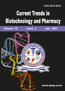 View Vol. 15 No. 3 (2021): Current Trends in Biotechnology and Pharmacy